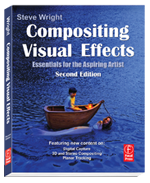 Compositing Visual Effects, Focal Press is an A-Z introductory book great for students, producers, directors or anyone who wants to know what visual effects are all about!
