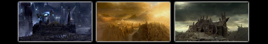 Hatch FX, Marina Del Rey, CA - Nuke Training - Matte paintings for Lord of the Rings, Scorpion King, Hellboy and The Chronicles of Riddick