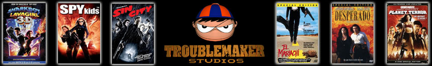 Robert Rodriguez's Troublemaker Studios, Austin, Texas - Shake to Nuke Transition Training - Sharkboy and Lavagirl 3D, Spy Kids 1,2 and 3, Sin City, El Mariachi, Desperado and Planet Terror