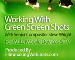 "Steve Wright's ""Working with Greenscreen Shots"" webinar is now an on-demand archive!"